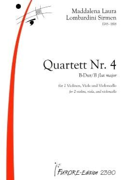 Quatuor N°4 en Si Bémol Majeur - laflutedepan.com