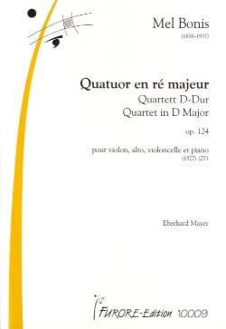 Quatuor En Ré Maj. Op.124 - Mel Bonis - Partition - laflutedepan.com