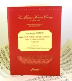 Jean-Baptiste Barrière - Sonatas For The Cello Book 3 - Sheet Music - di-arezzo.com