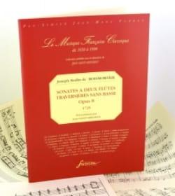 Sonates A 2 Flûtes Sans Basse Op.8 - BOISMORTIER - laflutedepan.com