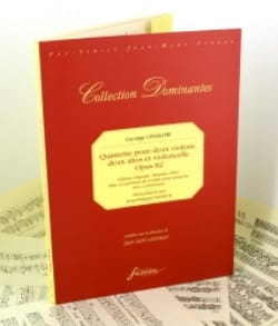 Georges Onslow - Quintette Op.82 - Partition - di-arezzo.fr