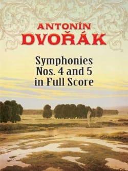 Antonin Dvorak - Symphonies n° 4 et 5 - Partition - di-arezzo.fr