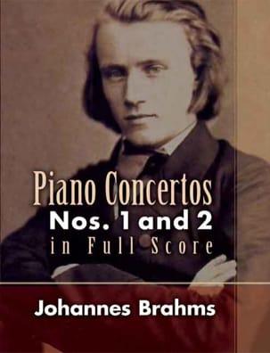 BRAHMS - Piano Concertos N°1 et 2 - Full Score - Partition - di-arezzo.fr
