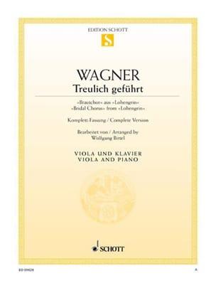 Treulich Geführt Extr.De Lohengrin - Richard Wagner - laflutedepan.com