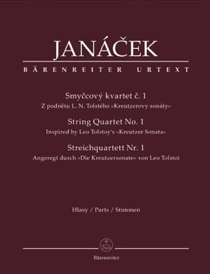 Leos Janacek - Streichquartett Nr. 1 - instrumental parts - Sheet Music - di-arezzo.co.uk