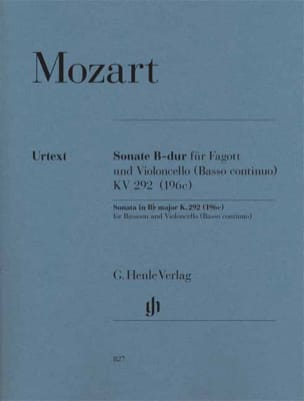 MOZART - Sonata in B flat major - Sheet Music - di-arezzo.com