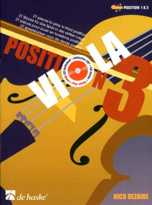 Nico Dezaire - Viola Position 3 - Sheet Music - di-arezzo.co.uk