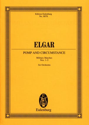 Edward Elgar - Pomp And Circumstance - Military Marches - Sheet Music - di-arezzo.co.uk