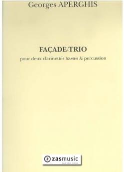 Georges Aperghis - Façade-Trio - Partition - di-arezzo.fr