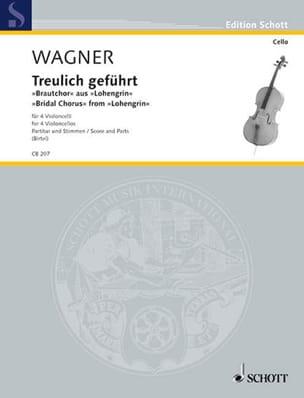 Treulich Geführt - Richard Wagner - Partition - laflutedepan.com