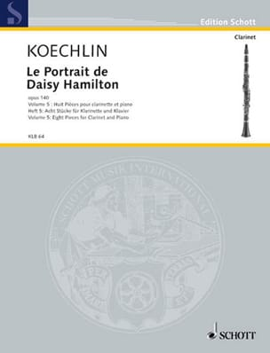 Charles Koechlin - Le Portrait De Daisy Hamilton Op.140 Vol.5 - Partition - di-arezzo.fr