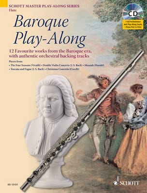 - Flute Baroque Play-Along - Partition - di-arezzo.fr