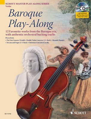 - Violon Baroque Play-Along - Partition - di-arezzo.fr