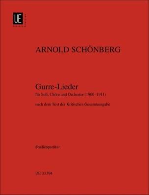 Arnold Schoenberg - Gurre-Lieder 1900-1911 - Partition - di-arezzo.fr
