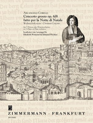 Arcangelo Corelli - Concerto Grosso Opus 6 N ° 8 - Sheet Music - di-arezzo.co.uk