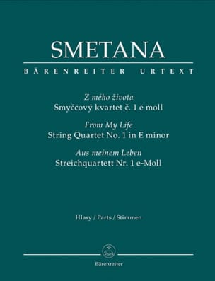 Bedrich Smetana - From My Life - Foursome N ° 1 In Mi Min. - Sheet Music - di-arezzo.co.uk