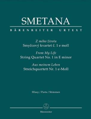Bedrich Smetana - From My Life - Quatuor N°1 En Mi Min. - Partition - di-arezzo.fr