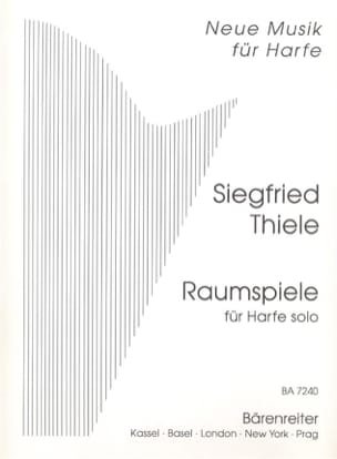 Siegfried Thiele - Raumspiele - Solo Harfe - Sheet Music - di-arezzo.co.uk