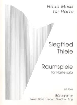 Siegfried Thiele - Raumspiele - Solo Harfe - Partitura - di-arezzo.es