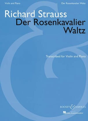 Richard Strauss - Der Rosenkavalier Waltz - Violin piano - Sheet Music - di-arezzo.com