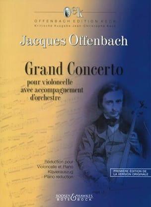 Jacques Offenbach - Grand Concerto (Concerto Militaire) - Partition - di-arezzo.fr