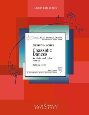 2 Chassidic Dances Zikmund Schul Partition 0 - laflutedepan
