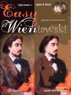 Rompaey Gunter Van - Easy Wieniawski 2 CD - Sheet Music - di-arezzo.com