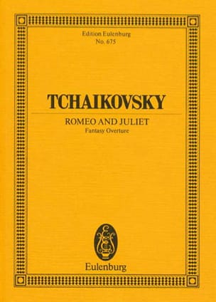 TCHAIKOVSKY - Fantasie-Ouverture Romeo und Julia - Sheet Music - di-arezzo.com