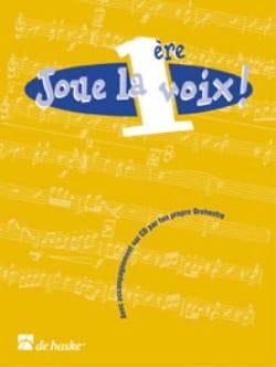 Joue la 1ère voix - Clarinette Partition Clarinette - laflutedepan
