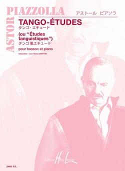 Astor Piazzolla - タンゴ・エチュード - 楽譜 - di-arezzo.jp