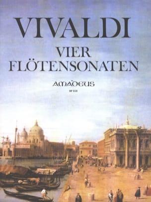 VIVALDI - 4 Sonaten - Flute and Bc - Sheet Music - di-arezzo.com