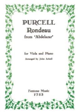 Rondeau d'Abdelazar –Viola piano - Henry Purcell - laflutedepan.com