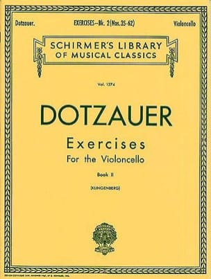 Friedrich Dotzauer - Exercices Volume 2 - Partition - di-arezzo.fr