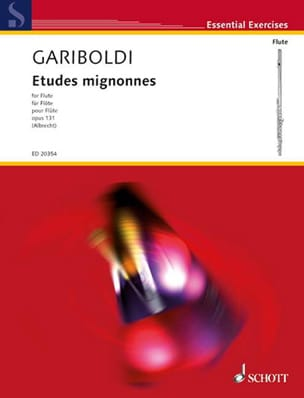 Giuseppe Gariboldi - Etudes Mignonnes Op. 131 - Partition - di-arezzo.fr