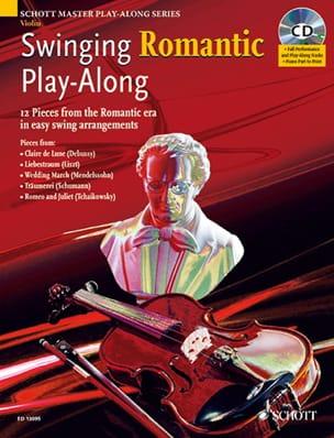 Swinging Romantic Play-Along +CD - Partition - laflutedepan.com