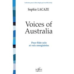 Voices of Australia Sophie Lacaze Partition laflutedepan