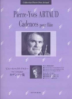 Pierre-Yves Artaud - Cadences Pour Flûte Mozart - Partition - di-arezzo.fr