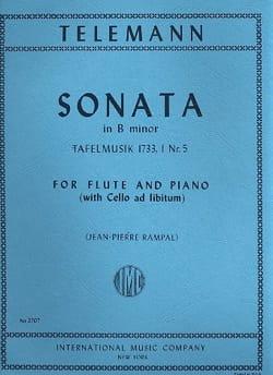 Sonate en Si Mineur - Georg Philipp Telemann - laflutedepan.com