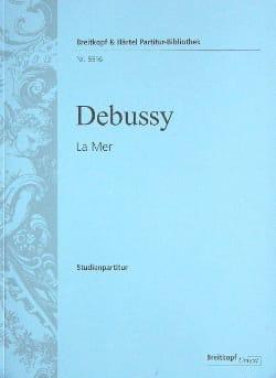 La Mer - Partition DEBUSSY Partition Petit format - laflutedepan