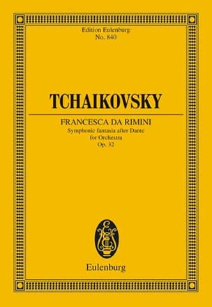 Francesca da Rimini - TCHAIKOVSKY - Partition - laflutedepan.com