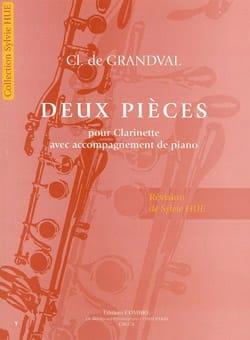 Grandval Clémence De - Deux Pièces - Partition - di-arezzo.fr