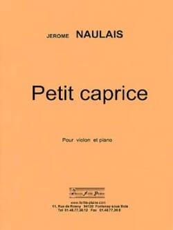 Jérôme Naulais - Petit Caprice - Partition - di-arezzo.fr