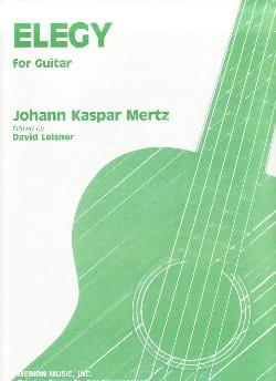 Elegy - Guitare Johann Kaspar Mertz Partition Guitare - laflutedepan