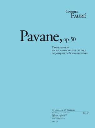 Gabriel Fauré - Pavane Op.50 - Partition - di-arezzo.fr