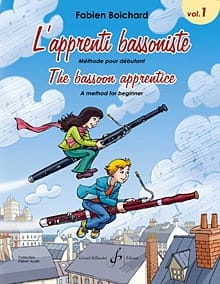 Fabien Boichard - L' Apprenti Bassoniste Volume 1 - Partition - di-arezzo.fr