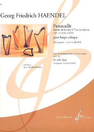 Georg Friedrich Haendel - Passacaille - Harpe Celtique - Partition - di-arezzo.fr