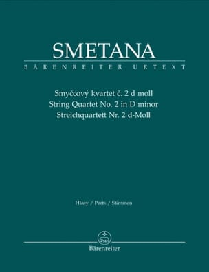 Bedrich Smetana - String Quartet N ° 2 in D Minor - Sheet Music - di-arezzo.co.uk