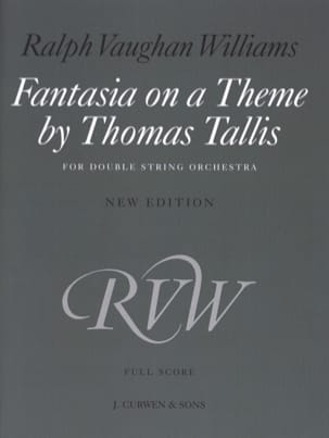 Williams Ralph Vaughan - Fantasia on a theme by Thomas Tallis (Score) - Partition - di-arezzo.fr