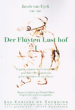 Jacob van Eyck - Der Fluyten Lust Hof Volume 1 - Sheet Music - di-arezzo.co.uk