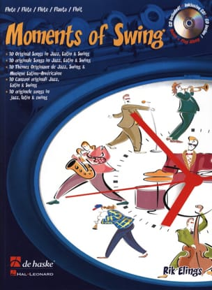 Rik Elings - Moments Of Swing - Flûte - Partition - di-arezzo.fr